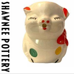 VTG Shawnee Pottery Smiley Pig Creamer Unsigned